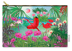 Flowery Lagoon - Limited Edition 1 Of 20 Carry-all Pouch