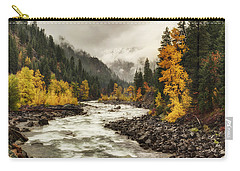 Flowing Through Autumn Carry-all Pouch