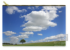 Fluffy Clouds Over Epsom Downs Surrey Carry-all Pouch