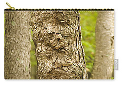 Fluted Tree Carry-all Pouch