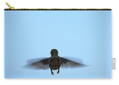 Fly Away Home Little Hummingbird Carry-all Pouch