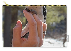 Carry-all Pouch featuring the photograph Fly Away by Mim White