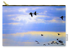 Fly Like The Wind Carry-all Pouch by Robyn King