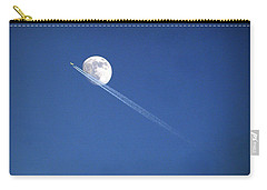 Fly Me To The Moon Carry-all Pouch by Cricket Hackmann