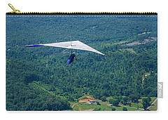 Carry-all Pouch featuring the photograph Flyin High by Susan  McMenamin