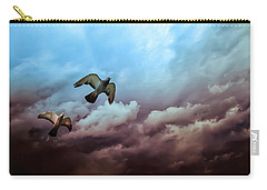 Flying Before The Storm Carry-all Pouch