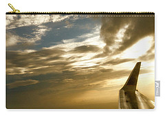 Flying Clouds By David Pucciarelli Carry-all Pouch by Iconic Images Art Gallery David Pucciarelli