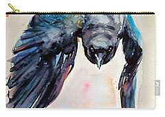 Flying Crow Carry-all Pouch