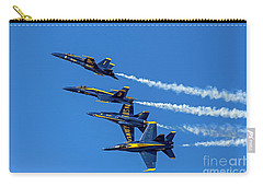 Carry-all Pouch featuring the photograph Flying Formation by Kate Brown