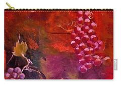 Flying Grapes Carry-all Pouch by Lisa Kaiser