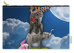 Flying High Above The Clouds Carry-all Pouch