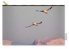 Carry-all Pouch featuring the photograph Flying High by Jack Bell