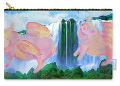 Flying Pigs Carry-all Pouch