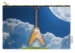 Flying V Guitar Carry-all Pouch by Marvin Blaine