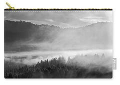 Fog In The Valley Carry-all Pouch