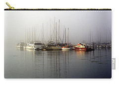 Fog Light In The Harbor Carry-all Pouch