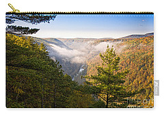 Fog Over The Canyon Carry-all Pouch
