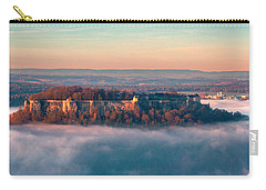 Fog Surrounding The Fortress Koenigstein Carry-all Pouch
