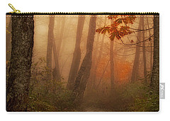 Foggy Autumn Carry-all Pouch by Mary Jo Allen