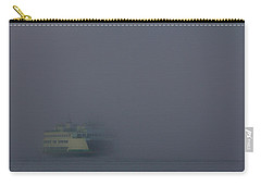Foggy Ferry Ride Carry-all Pouch by Charlie Duncan