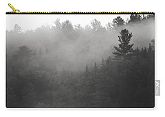 Foggy Hillside - Norway - Maine Carry-all Pouch