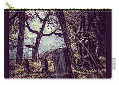 Carry-all Pouch featuring the photograph Foggy Memories by Melanie Lankford Photography