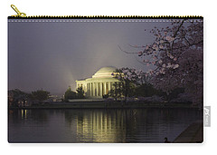 Foggy Morning At The Jefferson Memorial 1 Carry-all Pouch