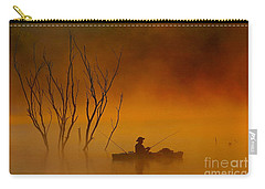 Foggy Morning Fisherman Carry-all Pouch
