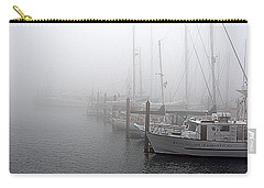 Foggy Morning In Charleston Harbor Carry-all Pouch