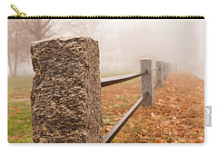Foggy Morning In Ellington Carry-all Pouch
