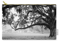 Foggy Morning On Coosaw Plantation Carry-all Pouch