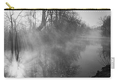 Foggy River Morning Sunrise Carry-all Pouch