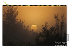 Foggy Sunrise Carry-all Pouch by Meg Rousher