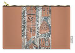 Folk Arabic Symbols Carry-all Pouch