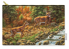 Whitetail Deer - Follow Me Carry-all Pouch