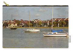 Folly Beach Boats Carry-all Pouch