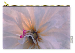 Carry-all Pouch featuring the photograph Romance by Jean OKeeffe Macro Abundance Art