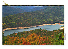 Fontana Lake In Fall Carry-all Pouch