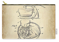Food Mixer Patent Kitchen Art Carry-all Pouch