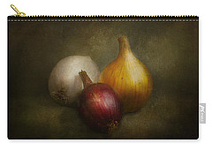Food - Onions - Onions  Carry-all Pouch by Mike Savad