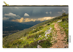 Foot Path Into The French Alps Carry-all Pouch