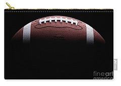 Football Painting Carry-all Pouch by Jon Neidert