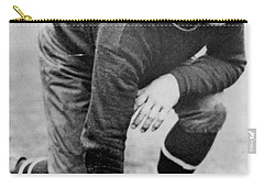Football Player Jim Thorpe Carry-all Pouch by Underwood Archives