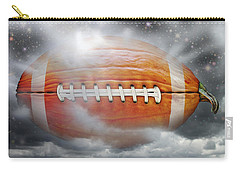 Football Pumpkin Carry-all Pouch