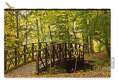 Footbridge At Letchworth Carry-all Pouch