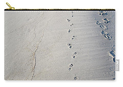 Footprints And Pawprints Carry-all Pouch