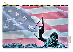 For Freedom Carry-all Pouch by Dan Stone
