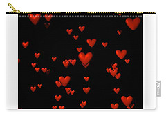 Carry-all Pouch featuring the digital art For My Girl... by Tim Fillingim