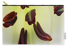 Carry-all Pouch featuring the photograph For The Love Of Lilies 1 by Wendy Wilton
