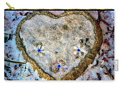 Carry-all Pouch featuring the photograph For The Love Of Winter by Deena Stoddard